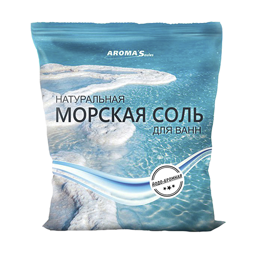Соль морская для ванн натуральная йодо-бромная